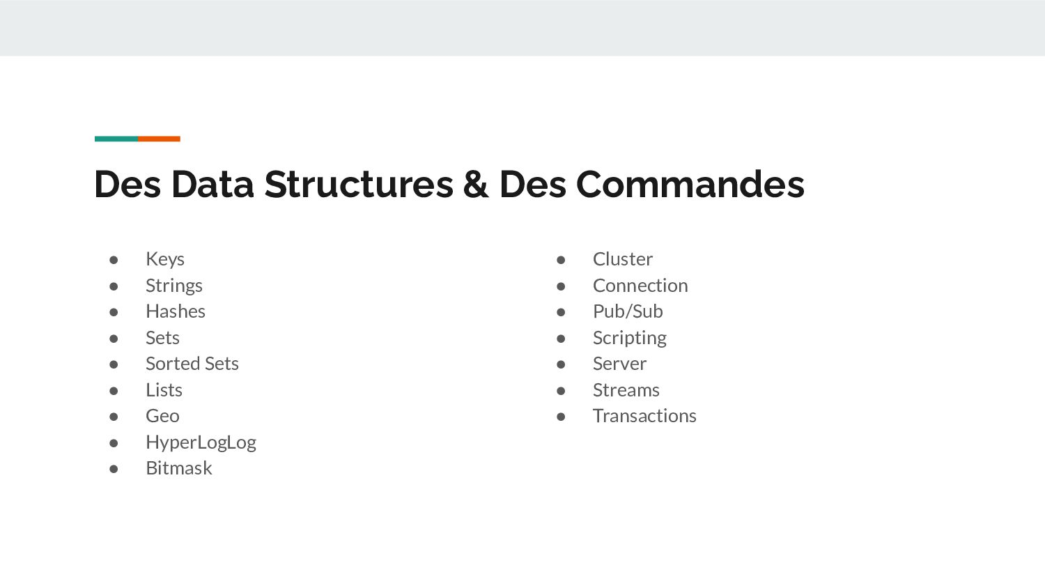 Des Data Structures