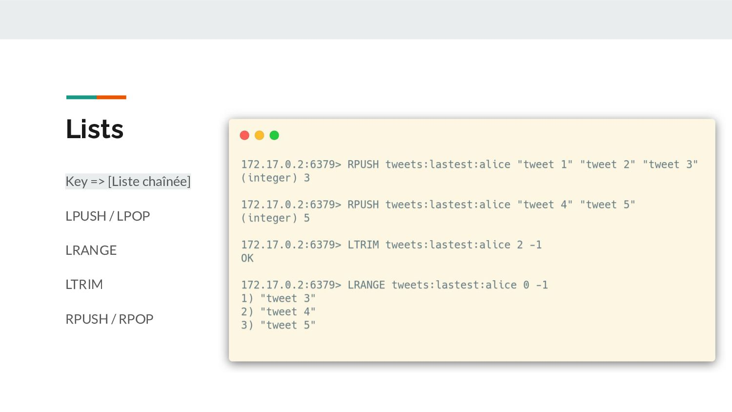 List - Use Cases Une timeline sociale Ne garder...