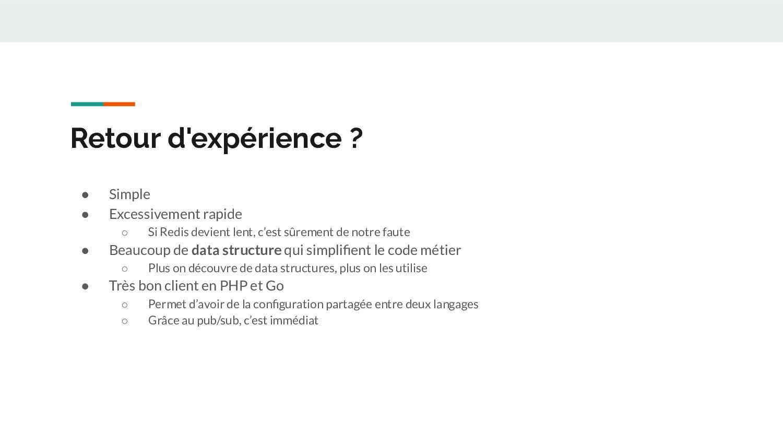 Et Redis dans Symfony ? A votre avis, combien d...