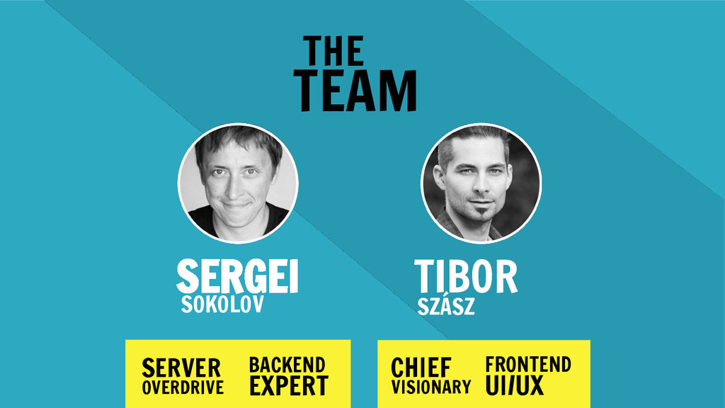 SERGEI THE TEAM SERVER SOKOLOV OVERDRIVE BACKEN...
