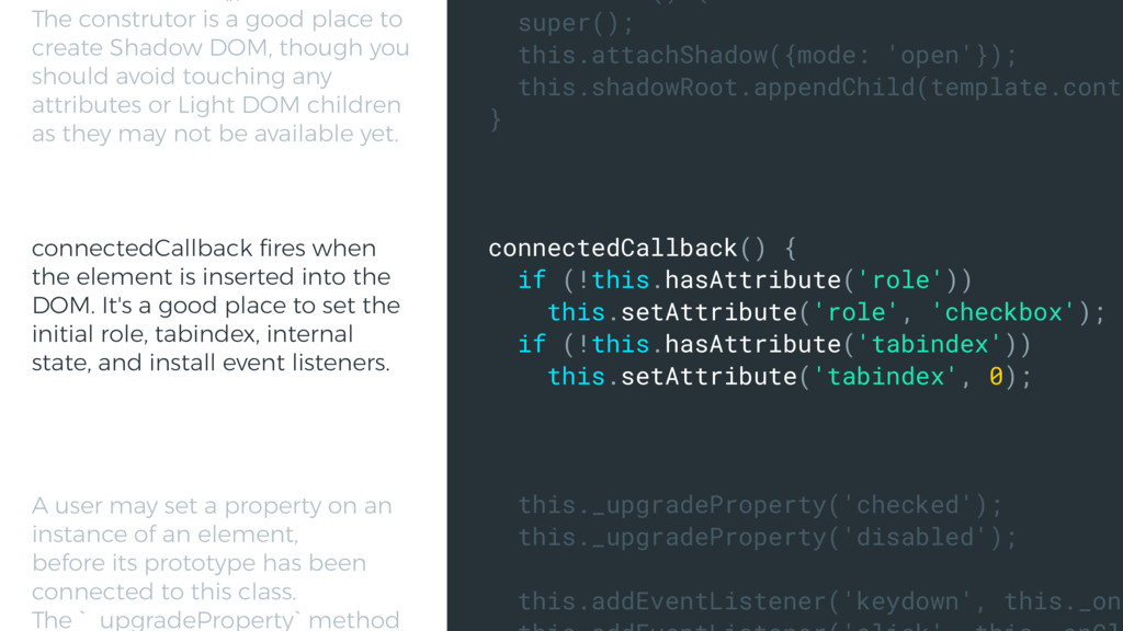 super(); this.attachShadow({mode: 'open'}); thi...