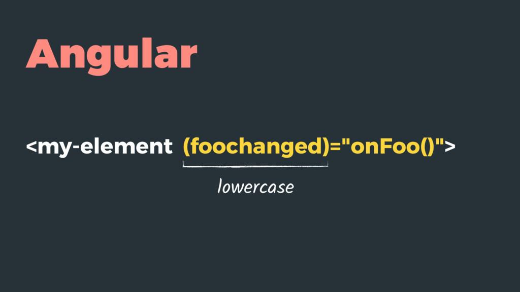 "Angular <my-element (foochanged)=""onFoo()""> low..."