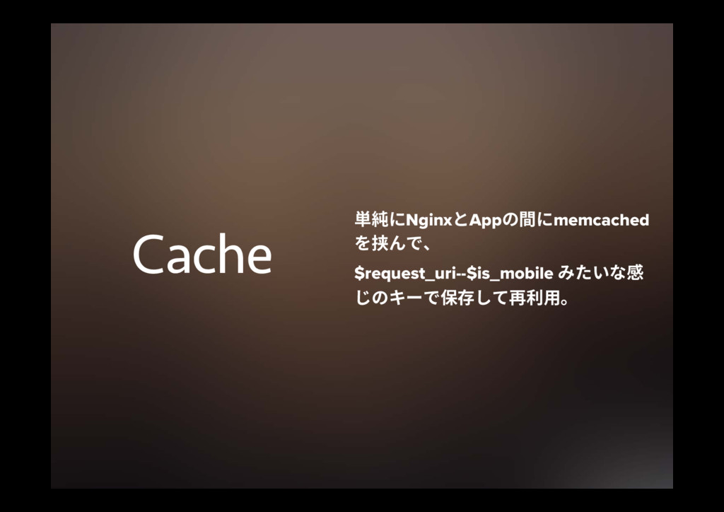 Cache ⽃秪חNginxהAppךחmemcached 䮠דծ $request_...