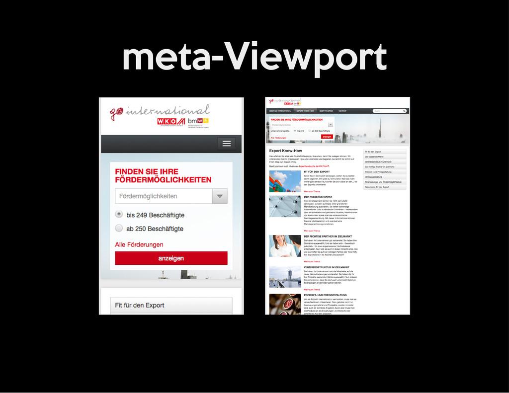 meta-Viewport