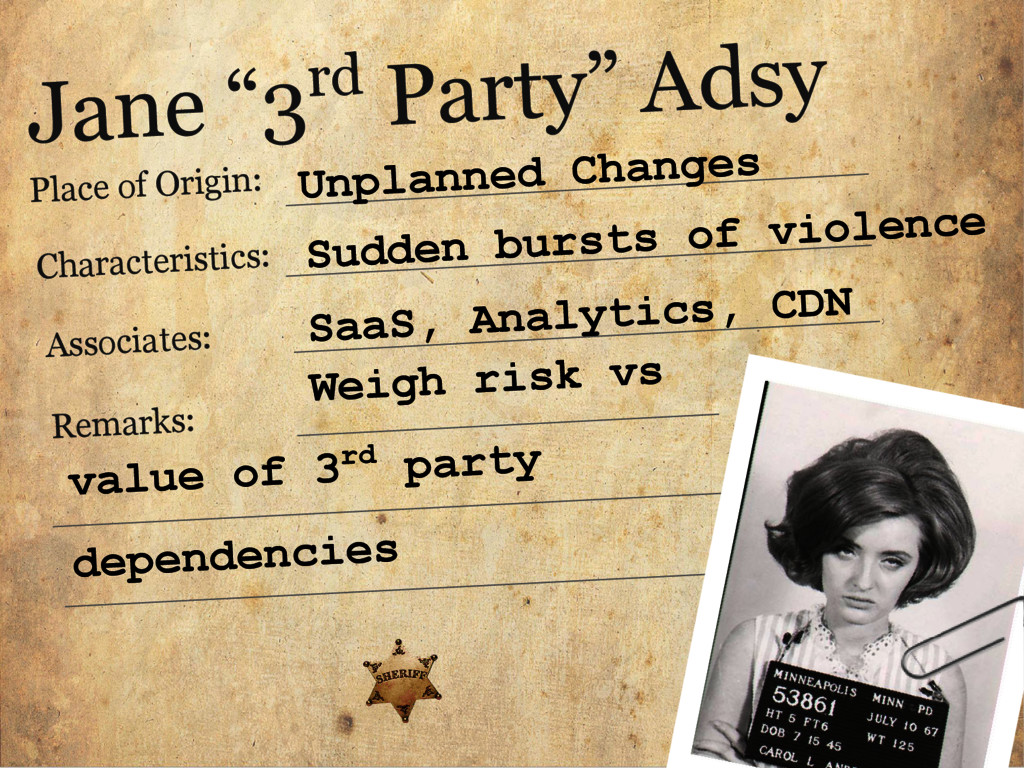 "Jane ""3rd Party"" Adsy Place of Origin: Characte..."