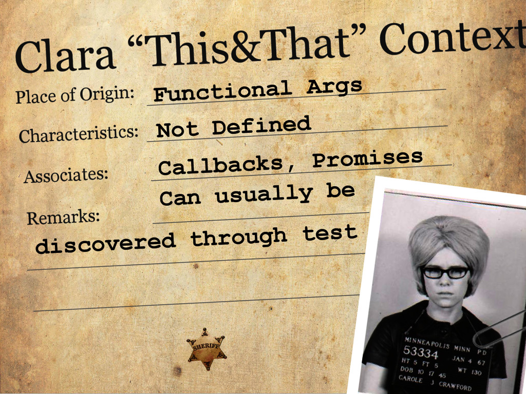 "Clara ""This&That"" Context Place of Origin: Char..."