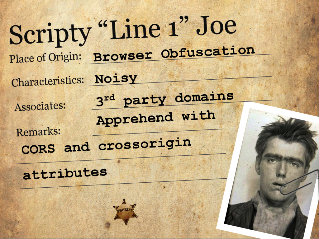 "Scripty ""Line 1"" Joe Place of Origin: Character..."