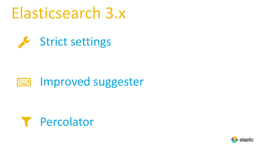 Elasticsearch 3.x Strict settings Improved sugg...