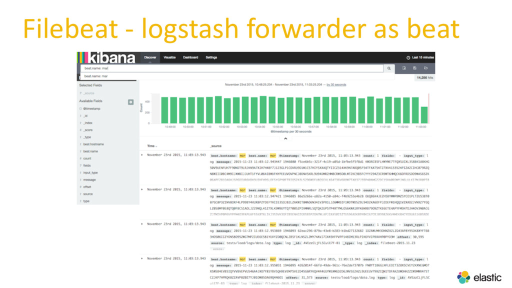 Filebeat - logstash forwarder as beat
