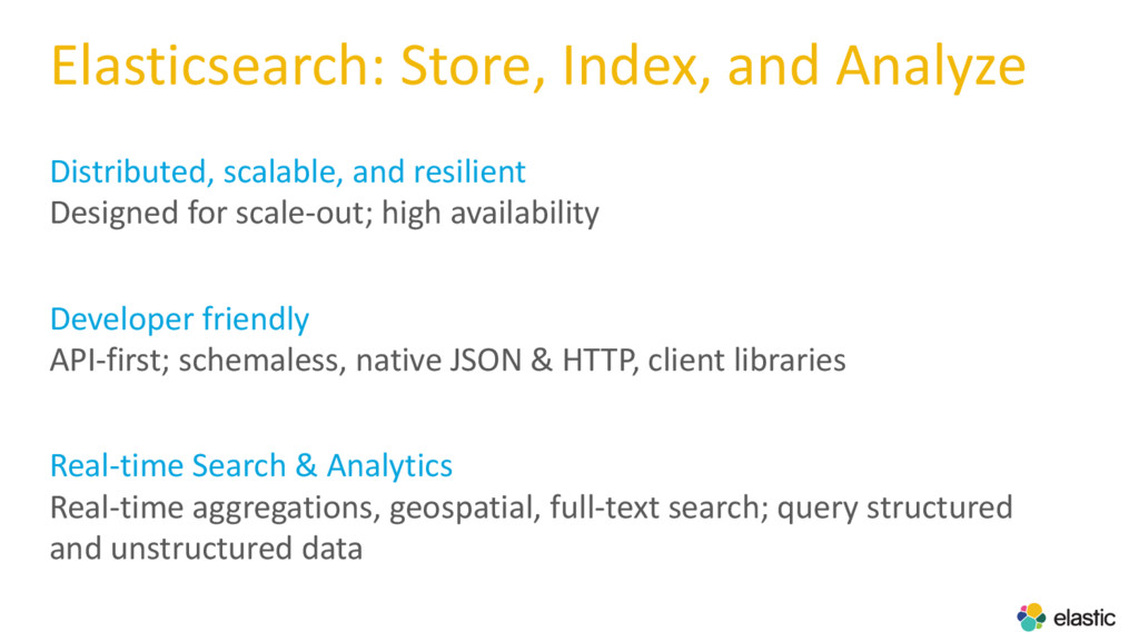 Elasticsearch: Store, Index, and Analyze Distri...