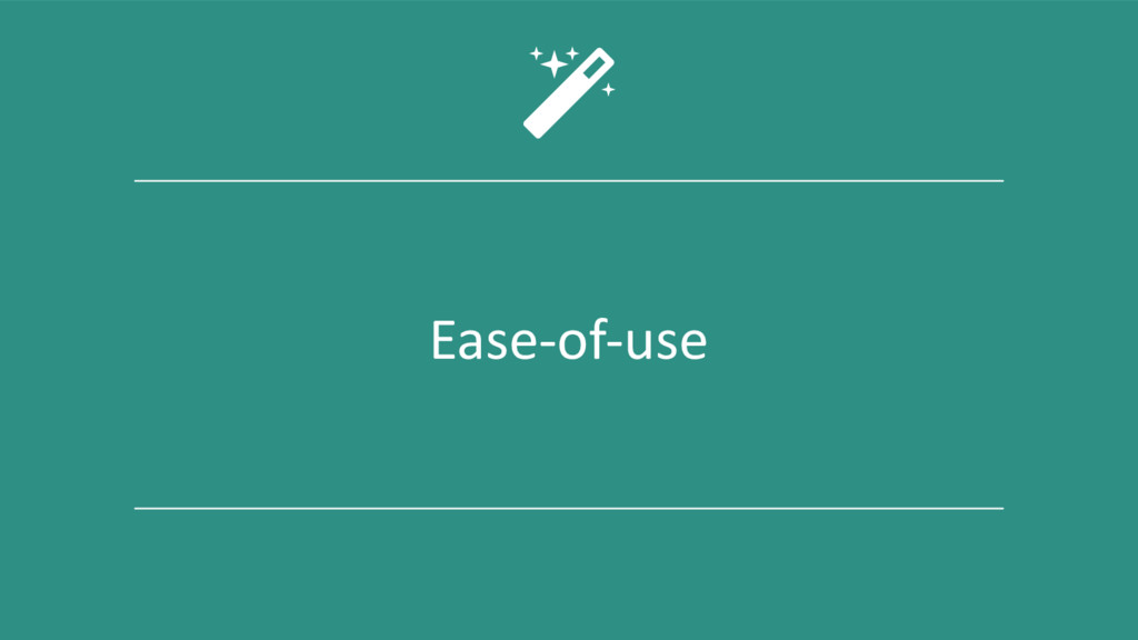 Ease-of-use 4