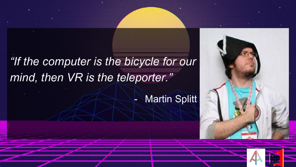 """""""If the computer is the bicycle for our mind, t..."""
