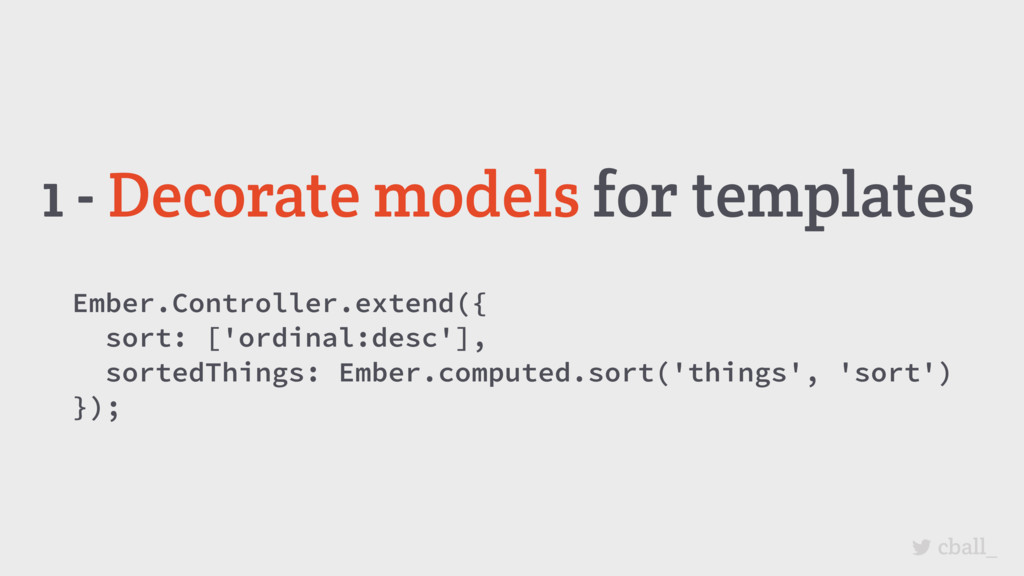 cball_ 1 - Decorate models for templates Ember....