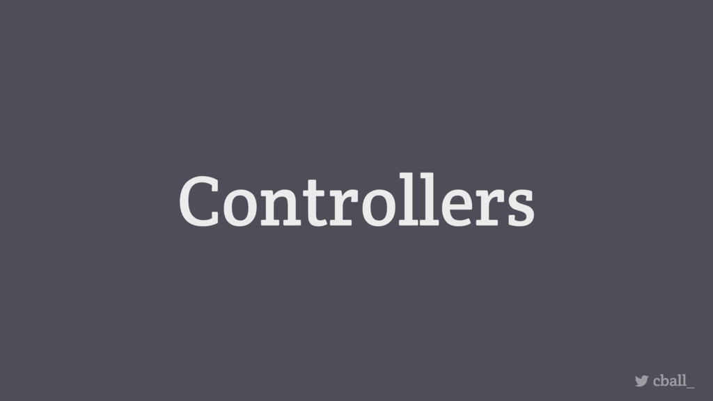 Controllers cball_