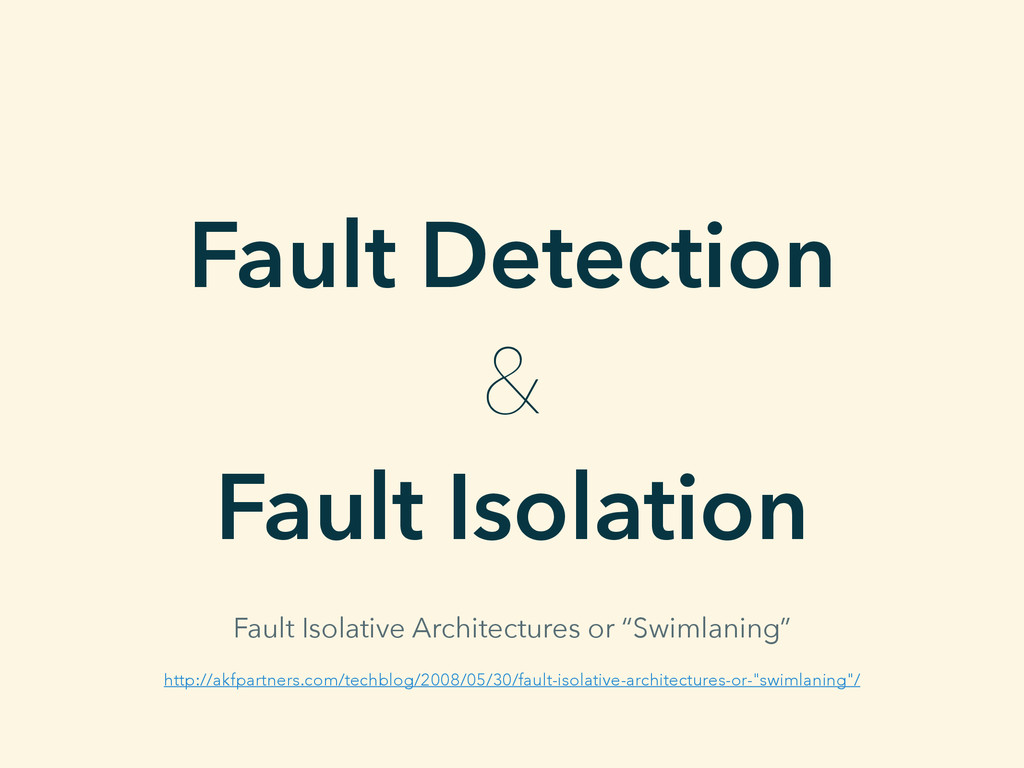Fault Detection & Fault Isolation http://akfpar...