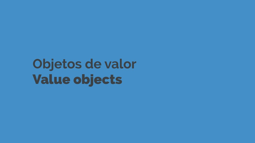 Objetos de valor