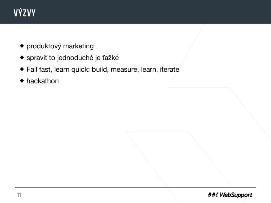 11 Výzvy produktový marketing  spraviť to jedno...