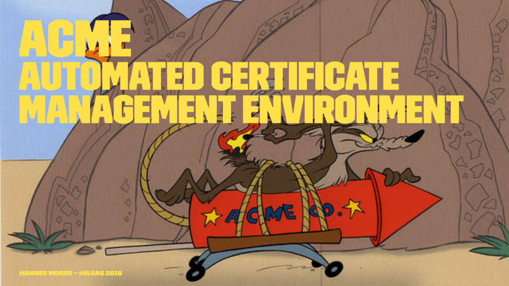 ACME Automated Certificate Management Environmen...
