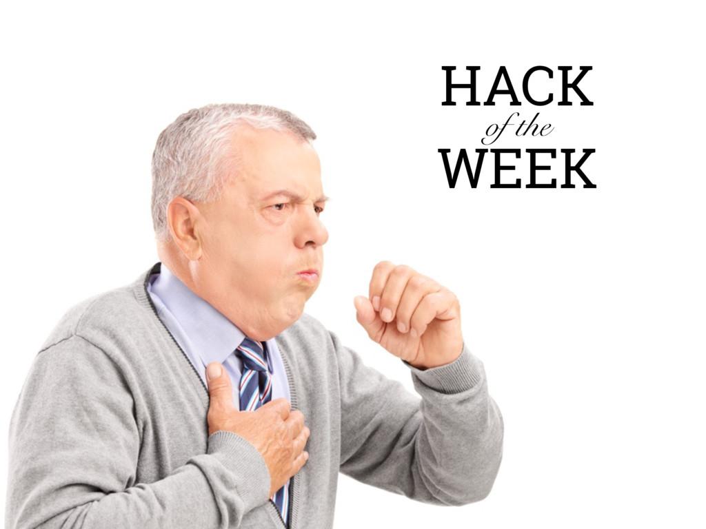 HACK of the WEEK