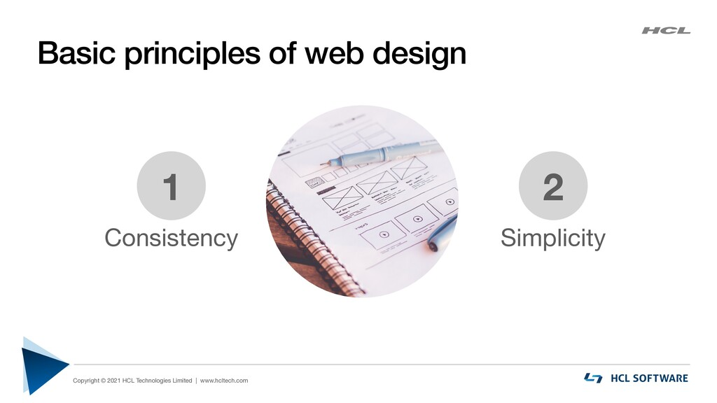 Basic principles of web design Copyright © 2021...