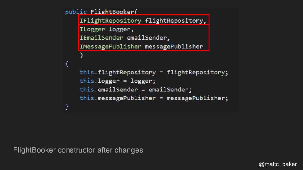 FlightBooker constructor after changes @mattc_b...