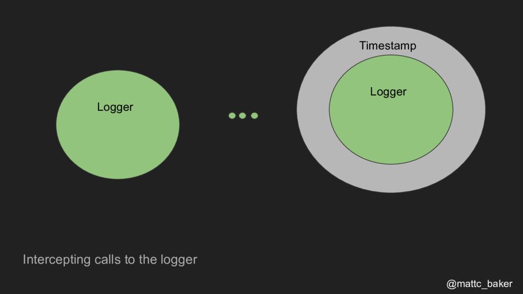 Intercepting calls to the logger @mattc_baker L...
