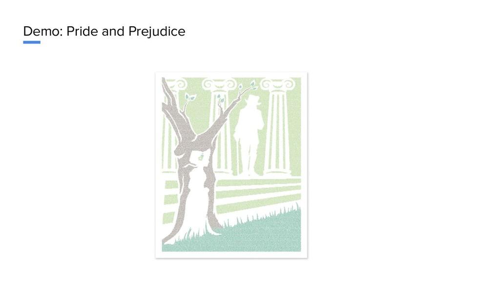 Demo: Pride and Prejudice