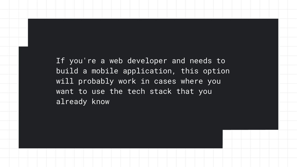 If you're a web developer and needs to build a ...