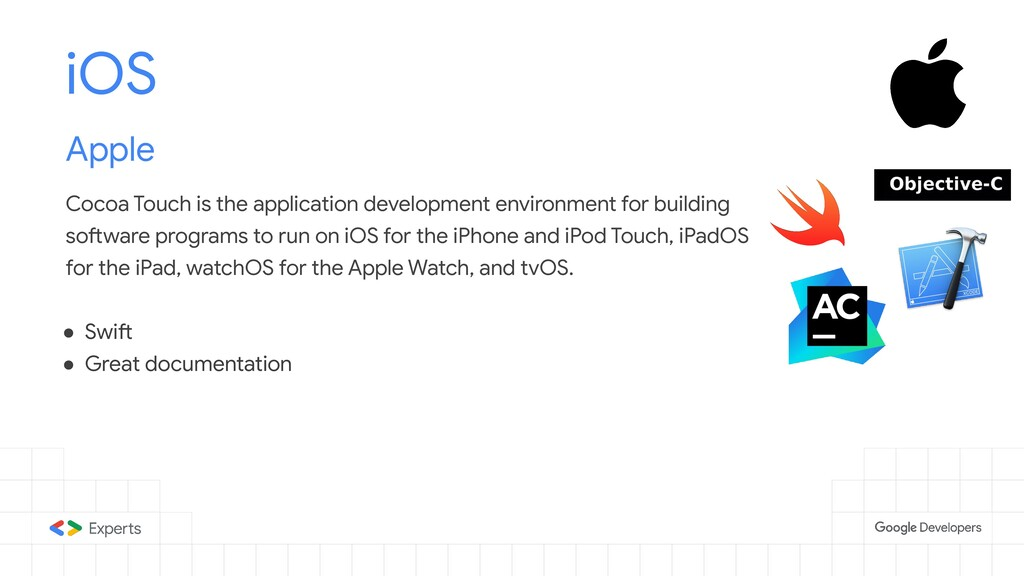 iOS Apple Cocoa Touch is the application develo...