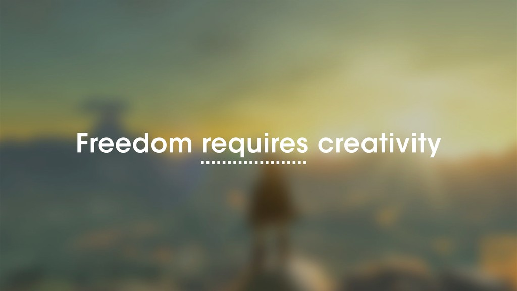 ©2018 Wantedly, Inc. Freedom requires creativity