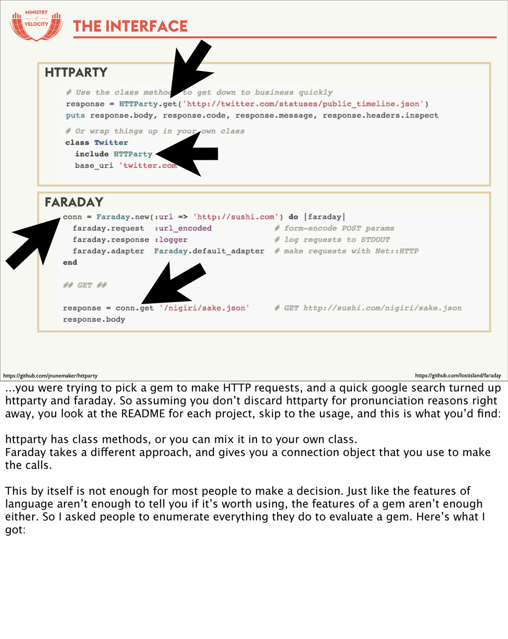 of THE INTERFACE HTTPARTY FARADAY https://githu...