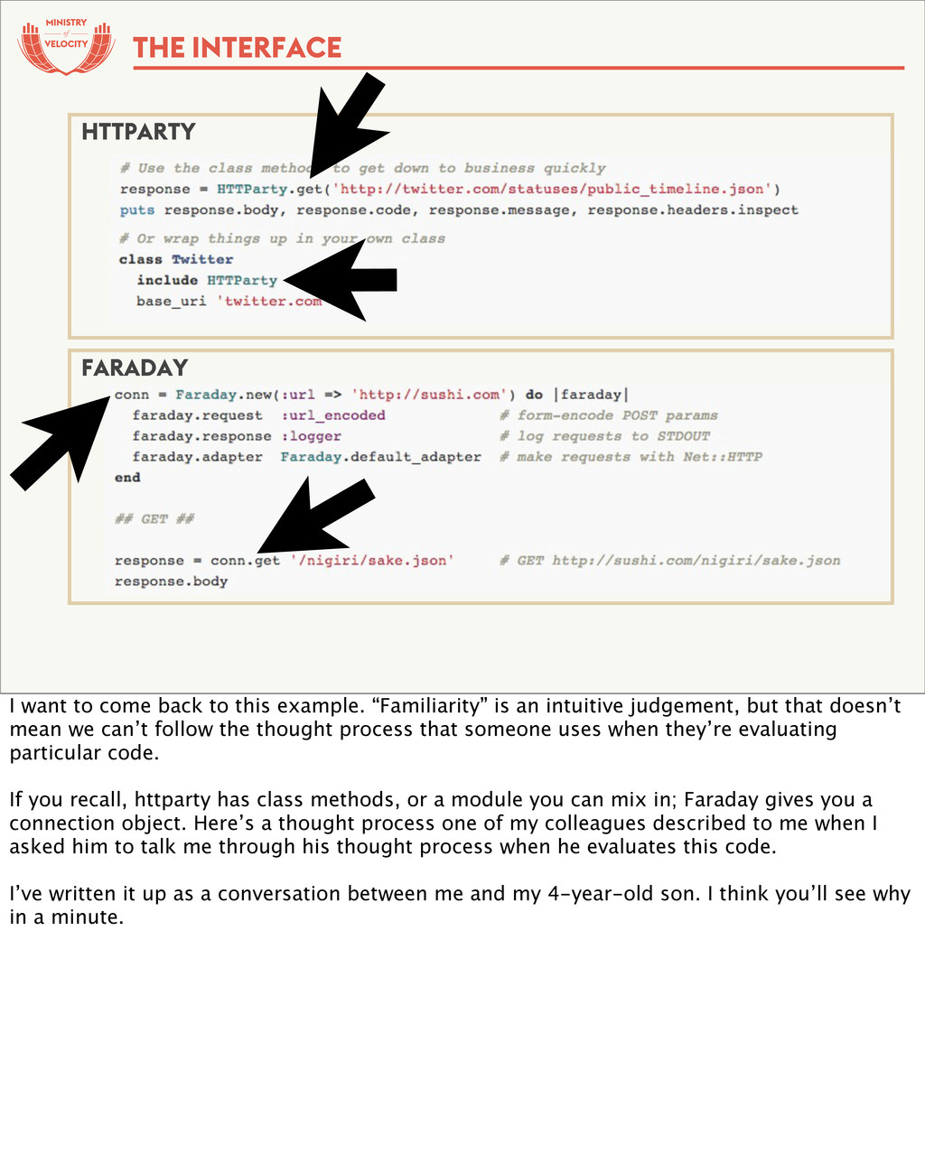 of THE INTERFACE HTTPARTY FARADAY I want to com...
