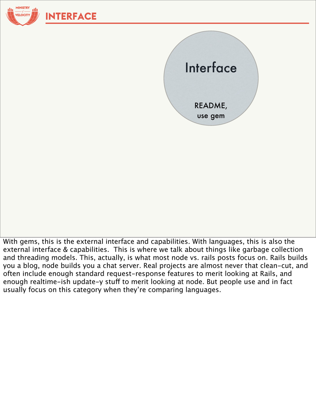 of Interface README, use gem INTERFACE With gem...