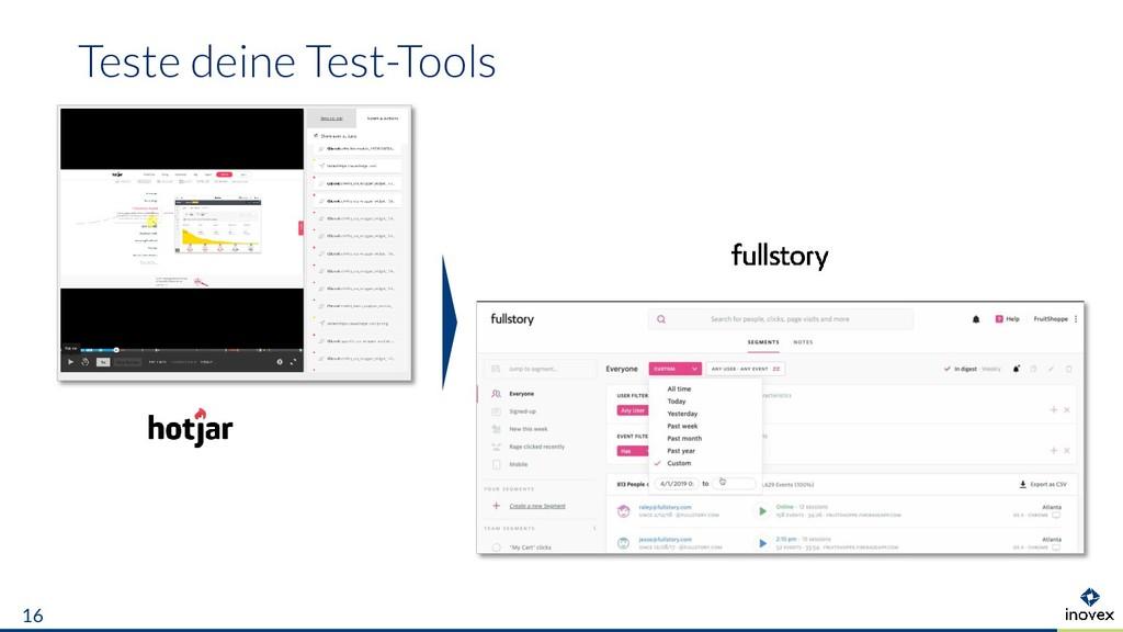 Teste deine Test-Tools 16