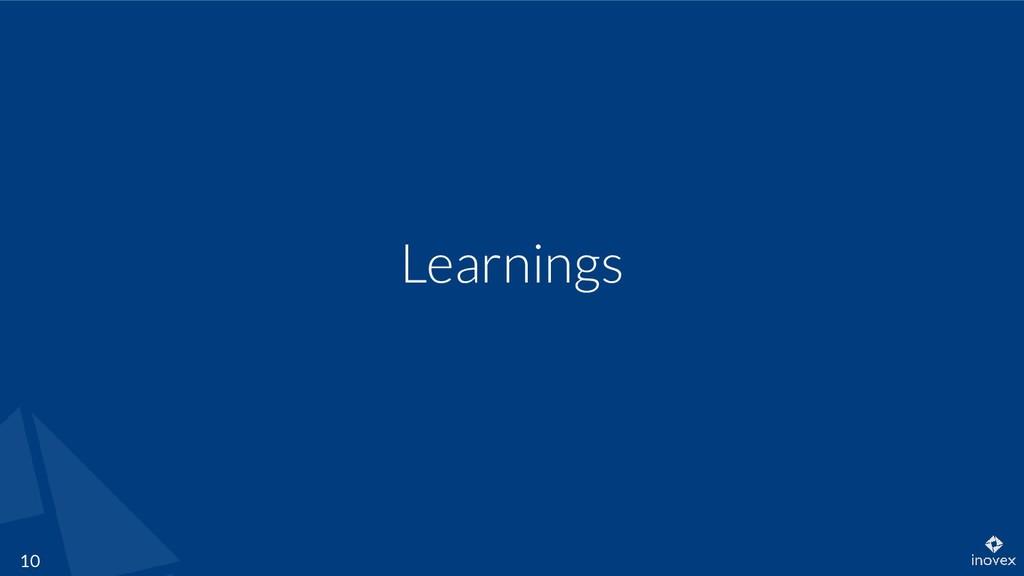 Learnings 10
