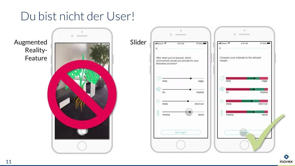 Du bist nicht der User! 11 Slider Augmented Rea...