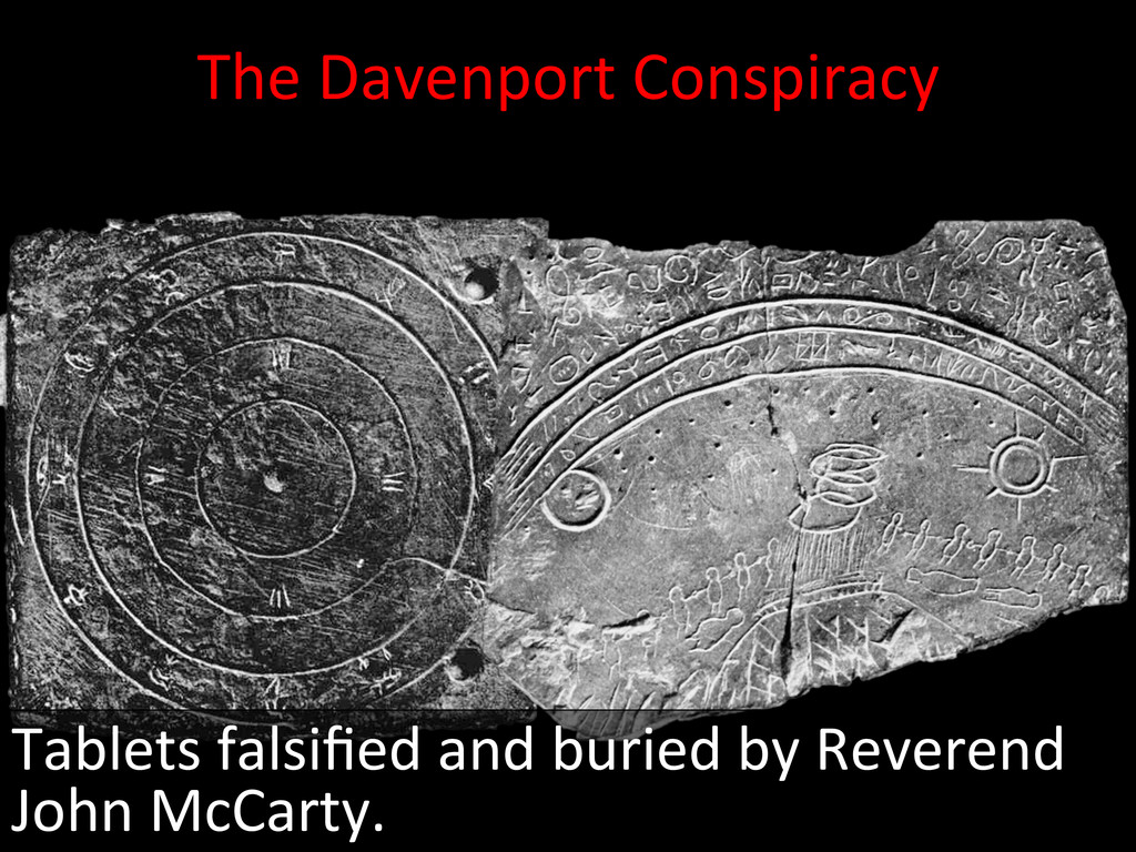 The Davenport Conspiracy   Tablets...
