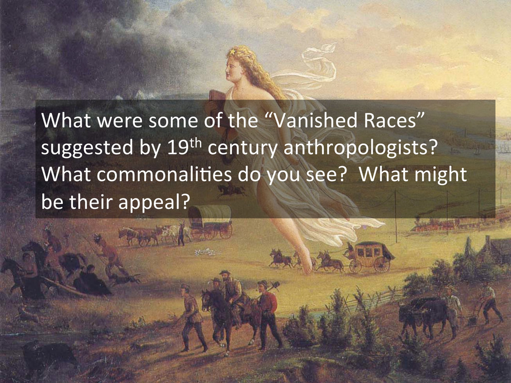 """What were some of the """"Vanished..."""