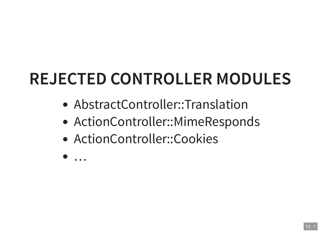 REJECTED CONTROLLER MODULES REJECTED CONTROLLER...
