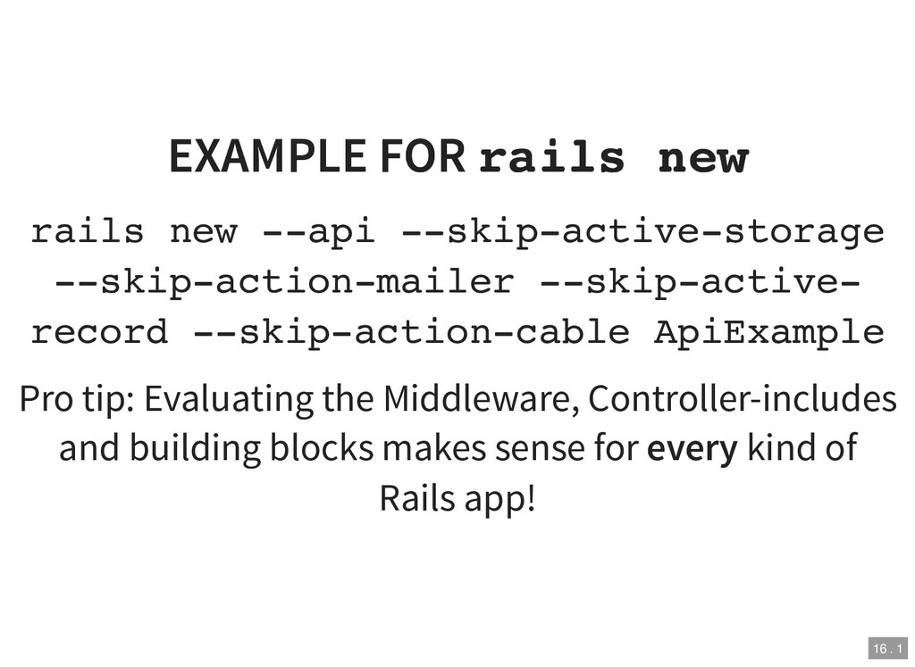 EXAMPLE FOR EXAMPLE FOR rails new rails new rai...