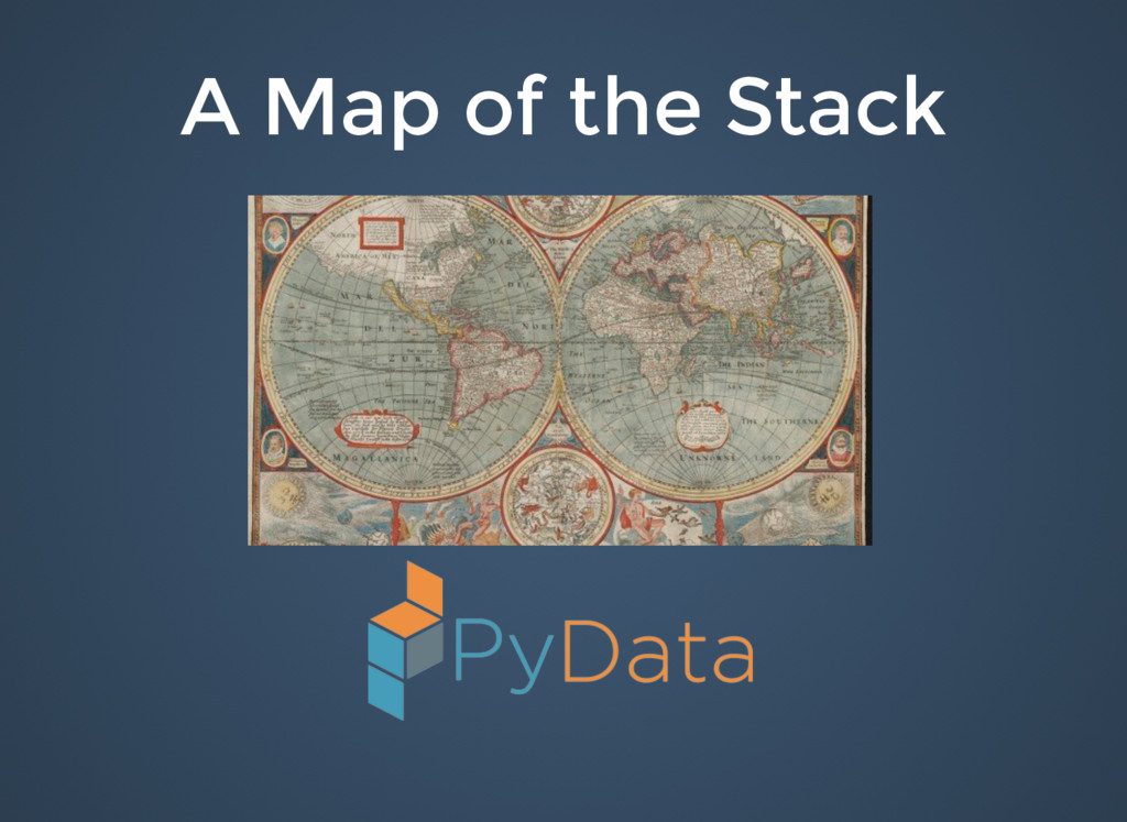 A Map of the Stack A Map of the Stack