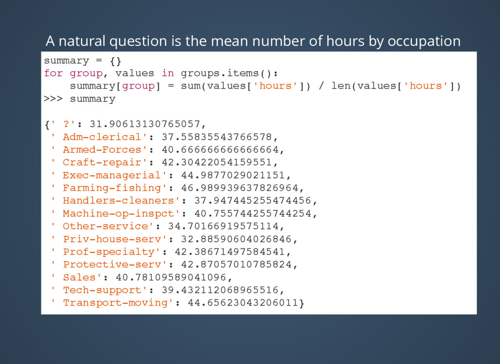 A natural question is the mean number of hours ...