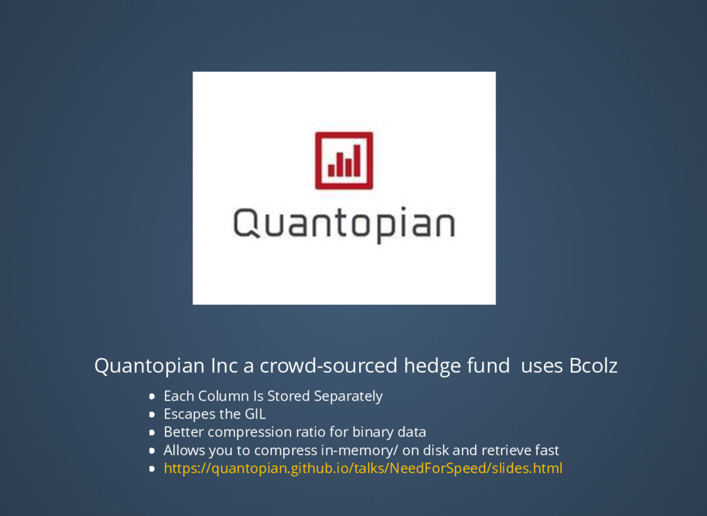 Quantopian Inc a crowd-sourced hedge fund uses ...