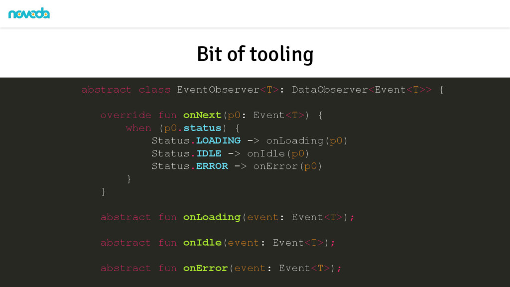 abstract class EventObserver<T>: DataObserver<E...