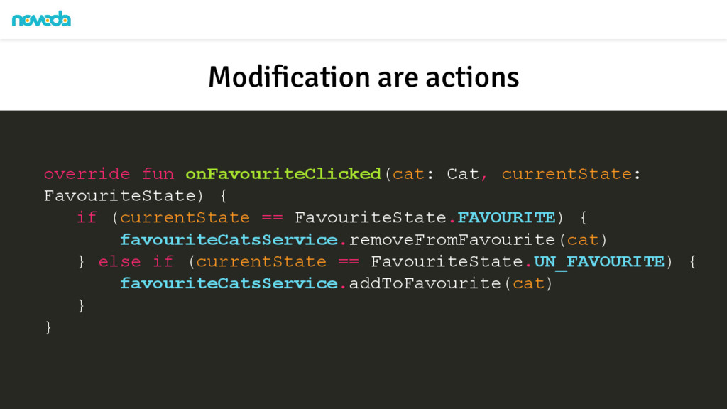 override fun onFavouriteClicked(cat: Cat, curre...