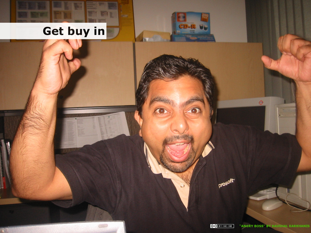 """5/5/15 Get buy in """"ANGRY BOSS"""" BY KAUSHAL KARKH..."""