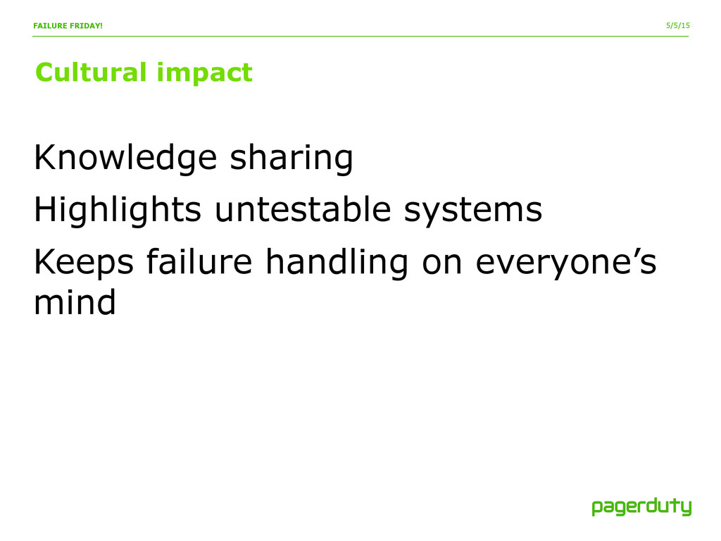 5/5/15 Cultural impact FAILURE FRIDAY! Knowledg...