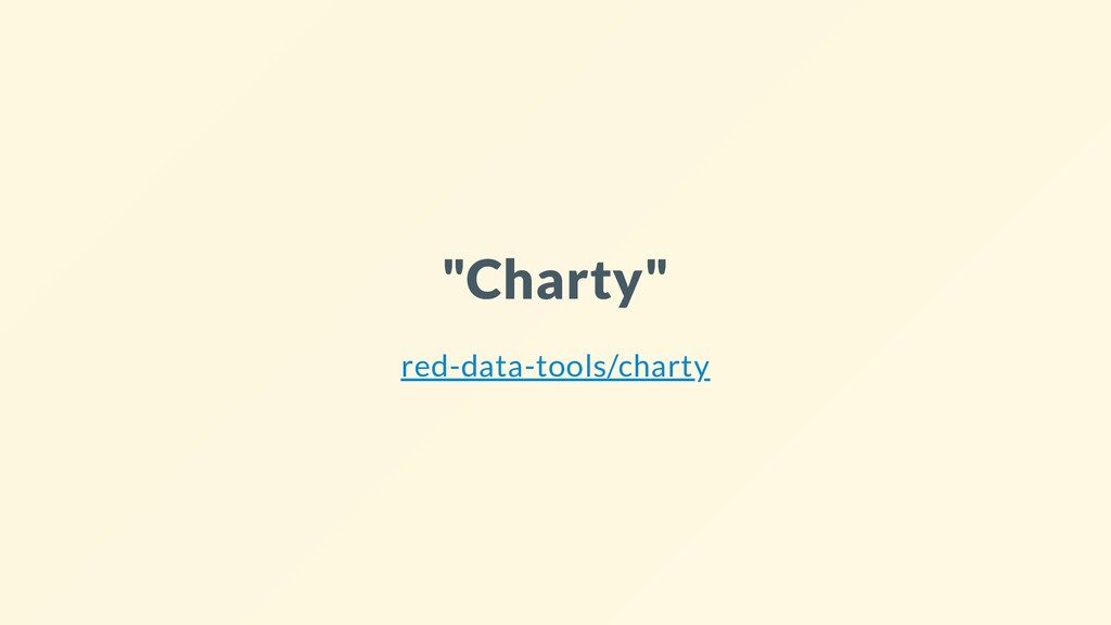 """Charty"" red-data-tools/charty"