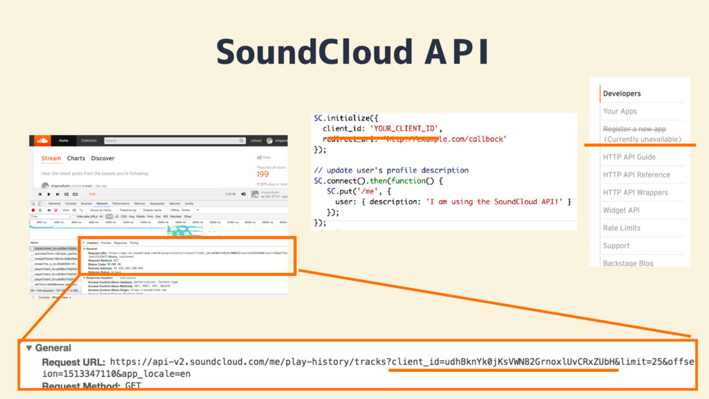 SoundCloud API