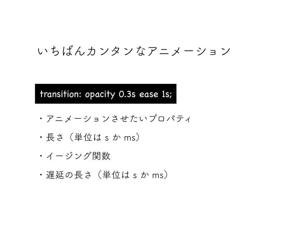 ͍ͪΜΧϯλϯͳΞχϝʔγϣϯ transition: opacity 0.3s ease ...